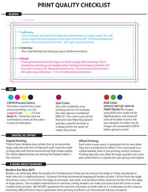 Print Quality Checklist pdf